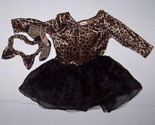 GYMBOREE KITTY CAT  PRINCESS COSTUME 6-12 MO Halloween Leopard Headband Ears
