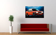 "BMW M3 SPORT EVOLUTION E30 PRINT WALL POSTER PICTURE 33.1""x20.7"""