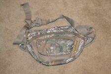 Fieldline Natural Camo Waist Fanny Pack Adjustable Belt Strap Hunting Bag