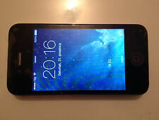 Apple iPhone 4 - 8GB Black FACTORY UNLOCKED Excellent Seller refurbished