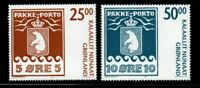 Greenland Sc 463-4 2005 Polar Bear Parcel Post stamp set  mint NH