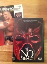 WWE - No Mercy 2002 (DVD,2002)RARE OOP Authentic US RELEASE