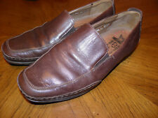 MEPHISTO Cool-Air Brown Leather Slip On LOAFERS Very Nice EUR 8.5 US 9