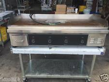 """ELECTRIC 48"""" FLAT TOP GRIDDLE COUNTER TOP 12,0000 WATTS 220V / 1 Phase"""
