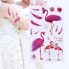 Flamingo Stylish Body Art Sticker Waterproof Removable Temporary Totem Tattoo HC
