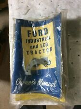 Ford Industrial & LCG Tractor Manual W/Neutral Bypass Plate