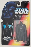 STAR WARS POWER OF THE FORCE DARTH VADER 1ST RELEASE WITH LONG LIGHTSABER