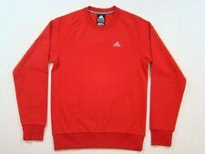 ADIDAS PERFORMANCE ESSENTIALS CREW FELPA XS NUOVO 60€ maglione pullover camicia