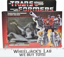 Sludge NEAR MINT FIGURE MIB 100% Complete H 1985 Vintage Hasbro G1 Transformers