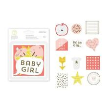 Studio Calico 7th Paper - Clara Gold Foil Girl Diecuts Embellishments 332537
