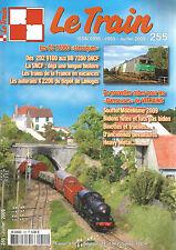LE TRAIN N°255 CC 72000 / 2D2 9100 AUX BB 7200 SNCF / AUTORAILS X 2200