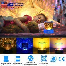 Kids Children LED Underwater World Projection Light Night Lamp Christmas Gift