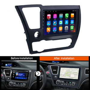 for HONDA CIVIC 2014-2017 9'' Android 8.1 2+32GB Car Radio GPS Multimedia Player