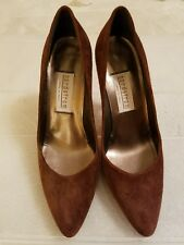 Made in Italy Nordstrom brown suede shoes 6.5M
