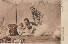 OLD POSTCARD PEOPLE FASHION MEN CHILDREN BALLET TUTU CLOWN THEATRE DRESS SB1