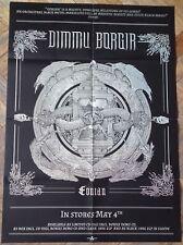 DIMMU BORGIR Eonian POSTER !!! Emperor/Satyricon/Behemoth/Carach Angren/Opeth !!