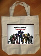 """""""Transformers Last Knight"""" Custom Personalized Birthday Tote Bag Party Favor"""