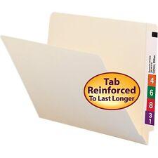 100 File Folders Letter Size, Manila Folder,  11 pt-,100 Folders