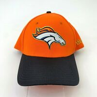 Denver Broncos New Era Hat Adult Size S/M Fitted Orange NFL Football Fan