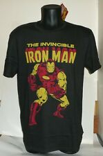TEE SHIRT THE INVINCIBLE IRON MAN - MARVEL - TAILLE L  NEUF