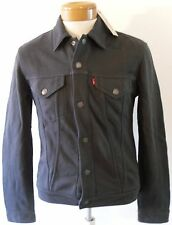 NWT Levis French Terry Mens Trucker Jacket M Phantom 160970008 MSRP$88