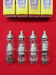 1x DY802 LORENZ NEU OVP Röhre geprüft Tube NEW 1BQ2 Valve Valvula Valvola Ventil