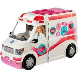 New Barbie Care Clinic 2-in-1 Fun Playset Toy Gift for Kids Ages 3Y+