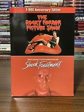 The Rocky Horror Picture Show Shock Treatment 3 Disc Dvd Set