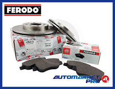 KIT DISCHI VENTILATI + PASTIGLIE FRENO FERODO FIAT PANDA NATURAL POWER 1.2 44 KW