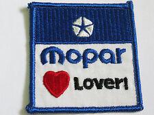 Mopar Lover Racing Patch (#4613)*