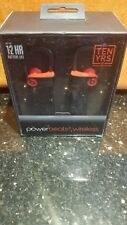 NEW PowerBeats3 Wireless Earphones The Beats Decade Collection Black-Red SEALED