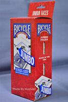 BICYCLE PLAYING CARDS 12 JUMBO Decks 6 BLUE 6 RED Standard 808 Poker Index Bridg