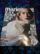 EMILY BLUNT - MARIE CLAIRE MAGAZINE - MARCH 2020