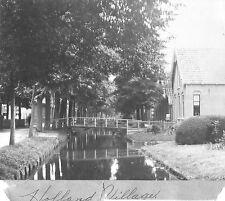 VINTAGE PHOTOGRAPH 1900'S DUTCH VILLAGE TOWN CITY HOLLAND NETHERLANDS OLD PHOTO
