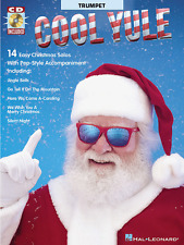 "INSTRUMENTAL PLAY-ALONG-TRUMPET ""COOL YULE"" MUSIC BOOK/CD-BRAND NEW ON SALE!!"