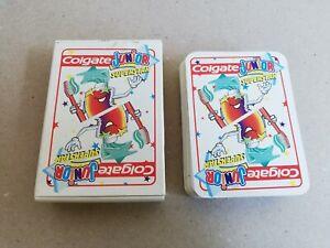 Gadget Topolino Colgate Junior Dentifricio Carte da Gioco Disney Vintage 80/90