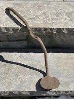 Antique Iron Buggy Carriage Wagon Step 19th Century hand forged Primitive AAFA