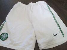 Shorts de fútbol Celta Home 2011-2012 Talla 7-8 años de cintura/Bi Escocia