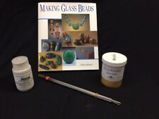Lampwork Kit-How to book, mandrels, Mica gold and bead release