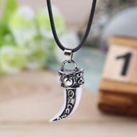 Style For Men Fashion Gift Tooth Shape Pendant Tooth Shape Necklace Jewelry