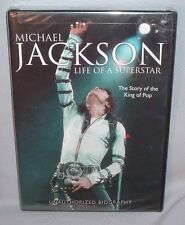 DVD MICHAEL JACKSON Life of a Superstar NEW MINT SEALED
