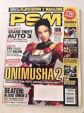 PS2 Magazine Grand Theft Auto 3 Onimusha 2 May 2 2002 022617NONRH