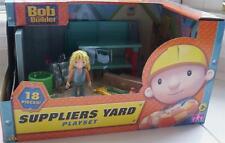 BOB THE BUILDER Activity toy - Suppliers Yard plastic toyset 18 piece set  BNIB