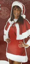 NEW MRS CHRISTMAS DELUXE SANTA SEXY FANCY OUTFIT SUIT ONE SIZE SET BEST GIFT