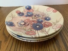 3 - NORITAKE Craftone Medley #8771 Salad Plates Dinnerware Replacements