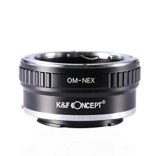 K&F Concept Adapter for Olympus OM Mount Lens to Sony E Mount NEX a5000 A7R