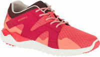 Merrell 1Six8 Mesh Womens Lace Up Strawberry Hiking Fitness Sports Trainers