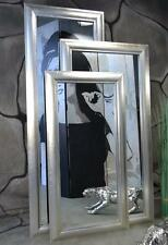 Rechteckige klassische Deko-Spiegel aus Holz fürs Badezimmer