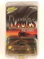Johnny Lightning Flames The Series '66 1966 Dodge Charger 1/64 Die-cast Scale #3