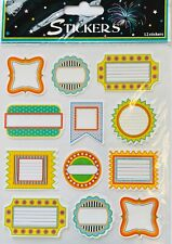 Colorful Labels Tags Stickers Papercraft Planner Supply Scrapbook Diy Craft